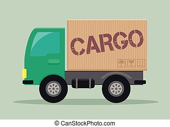 delivery truck cargo