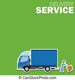Delivery truck service and Freighte