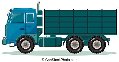 Delivery truck. Shipping concept.vector illustration