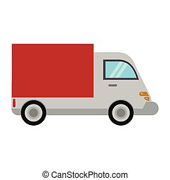 delivery truck transport image