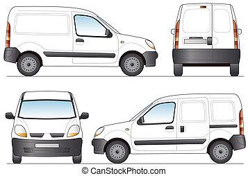 Delivery Van - Layout for presentation