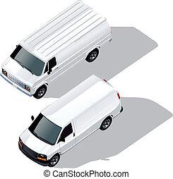 delivery vans set