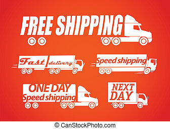 Delivery vector stickers