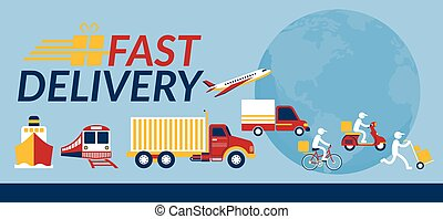 Delivery Vehicles and Service Worldwide