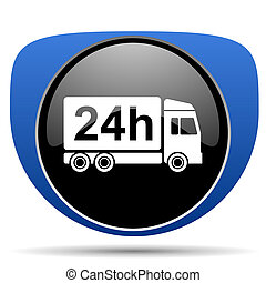Delivery web icon