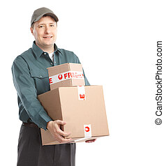 Delivery worker.