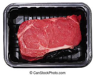 Delmonico Rib Eye Steak - Fresh delmonico or rib eye steak...