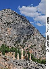 delphi, apollo, tempio