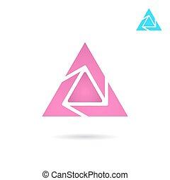 Delta letter logo