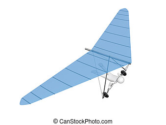 deltaplane, -, sports, collection