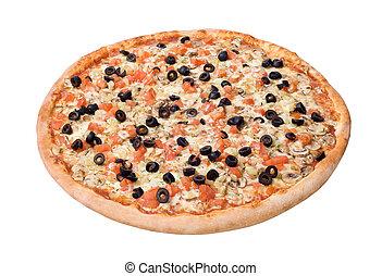 deluxe, pizza