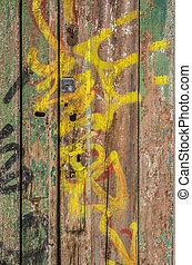 Demaged Old Door