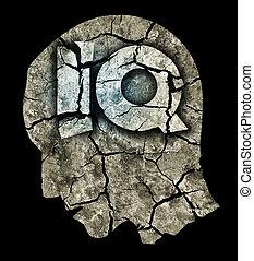 demencia, inteligencia, quotient, concepto