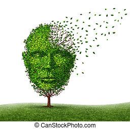 Dementia Disease - Dementia disease dealing with Alzheimer's...