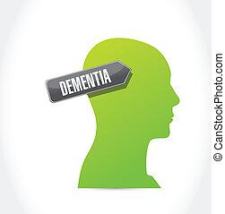 dementia illustration design