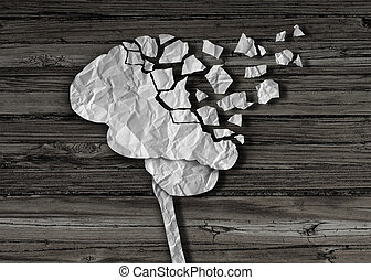 Dementia or brain damage and injury as a mental health and...