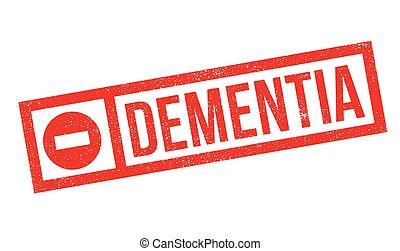 Dementia rubber stamp