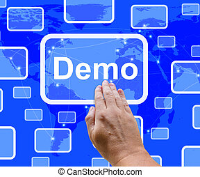 Demo Button To Download A Trial Version Of Software
