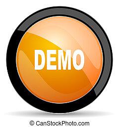 demo orange icon