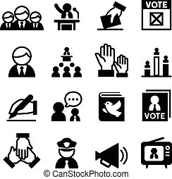 Democracy icon - Democracy , Election, icon