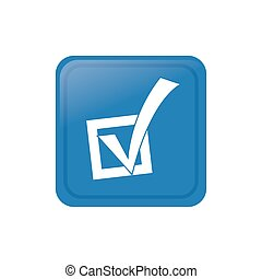 Democracy voting vote icon vector illustration graphic...
