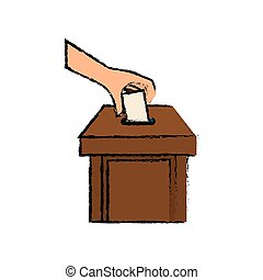 Democracy voting vote