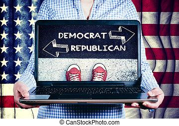 democrat or republican