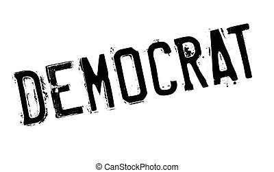 Democrat rubber stamp