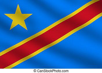 Democratic Republic of the Congo flag - Flag of Democratic...