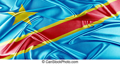 Democratic Republic of the Congo Flag - Democratic Republic...