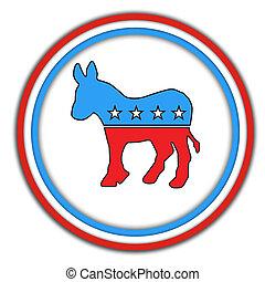 democrats-button