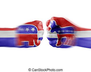 democrats x republicans