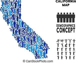 Demographics California Map