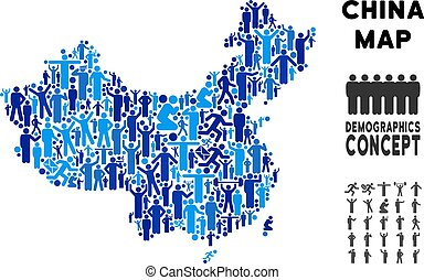 Demographics China Map