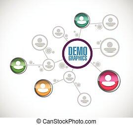 demographics people diagram network