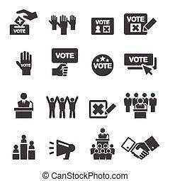 demokratie, ikone