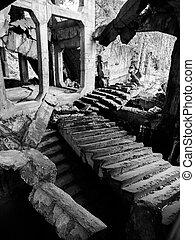 demolido, westerplatte, cuartel