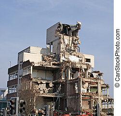 demolition- aufstellungsort