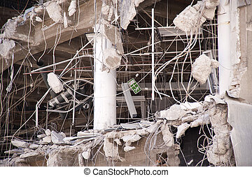 Demolition building