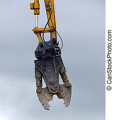 Demolition Claw - Giant demolition claw ready to grab on a...
