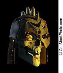 Demon Battle Skull