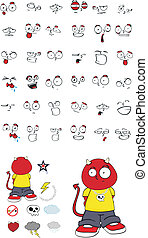 demon kid cartoon set10