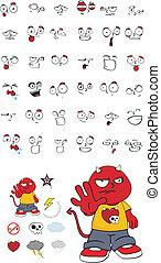 demon kid cartoon set5