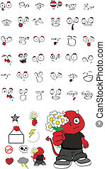 demon kid cartoon set6