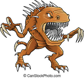 Demon Monster Beast Vector