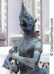 Demon Statue at Wat Phra Kaew