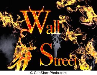 Wall Street. - Demon Wall Street.