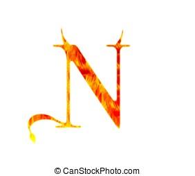 demonio, n.