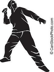 demonstrador, (hooligan)