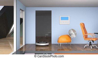 Demonstration of smart house